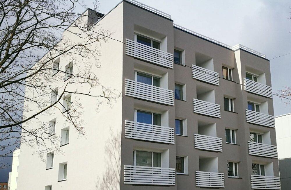 Fassaadi renoveerimine on mõistlik siduda soojustamisega