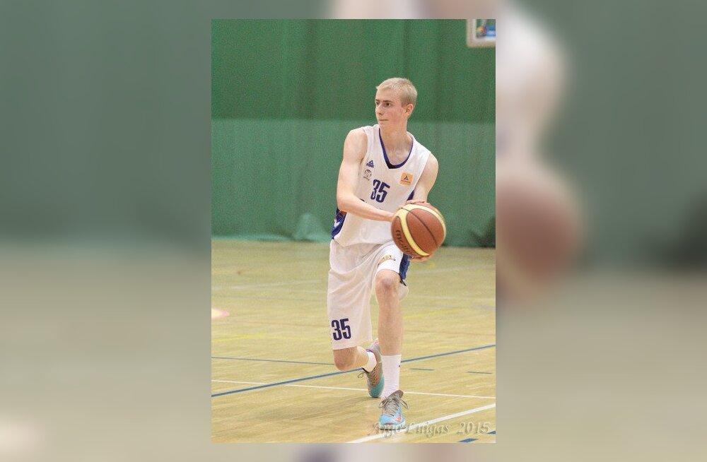 U18 noormeeste finaalis kohtuvad Audentese SK ja KK Pärnu