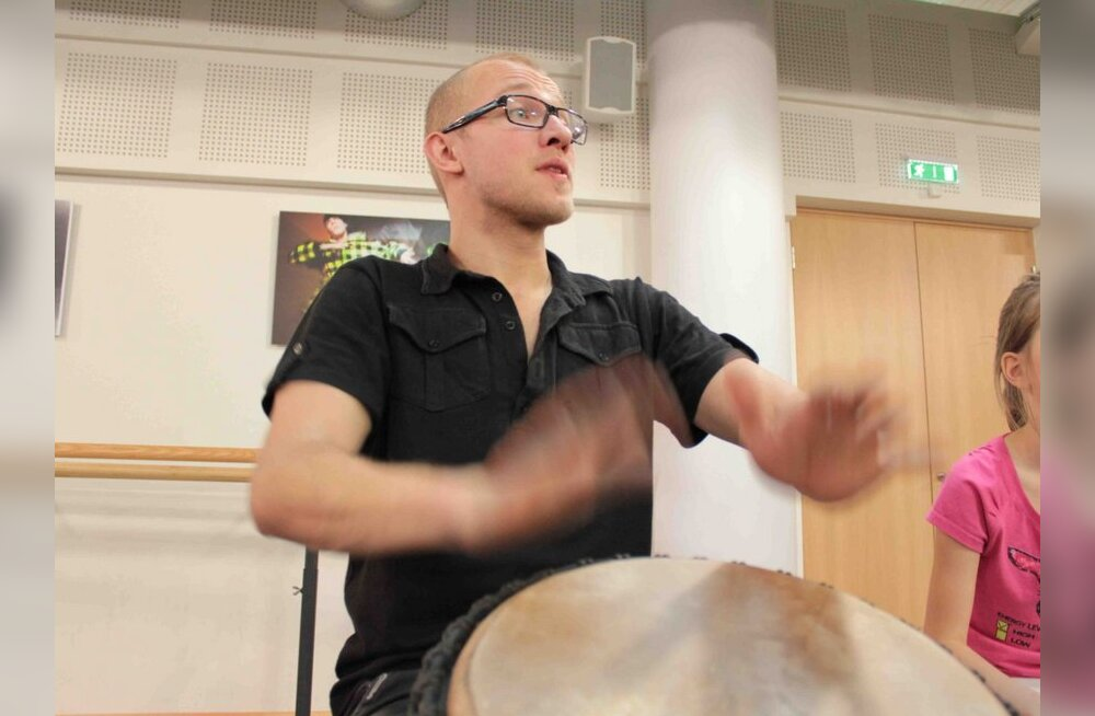 Reigo Ahven: tants ja trummid on üks!