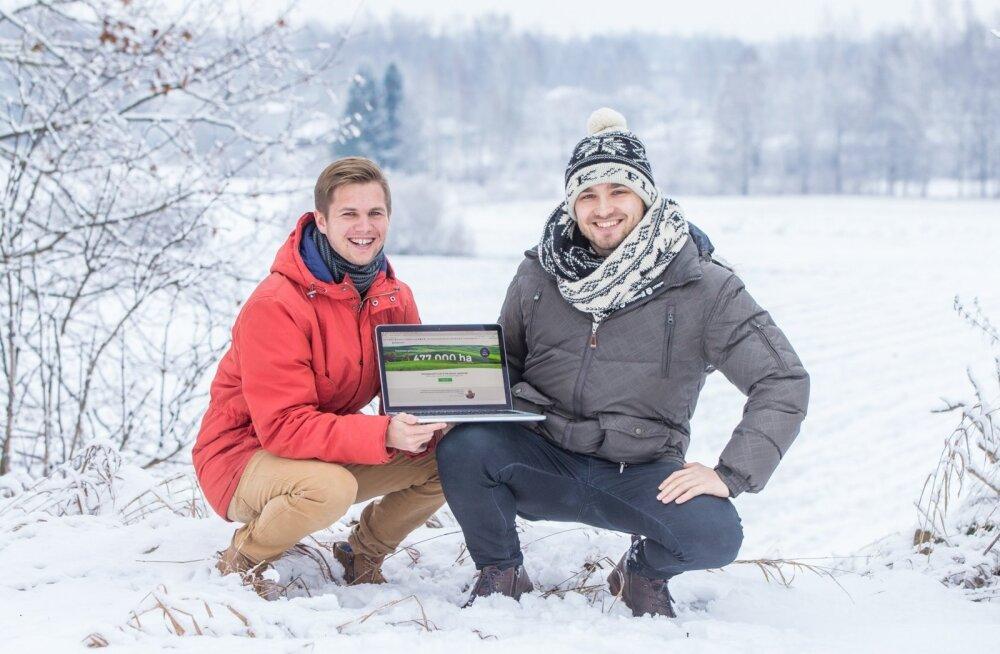 Robin Saluoks ja Stenver Jerkku tahtsid põllumeeste elu arvutuste tegemisel ning andmete täitmisel kergemaks teha ning lõid selleks rakenduse eAgronom.