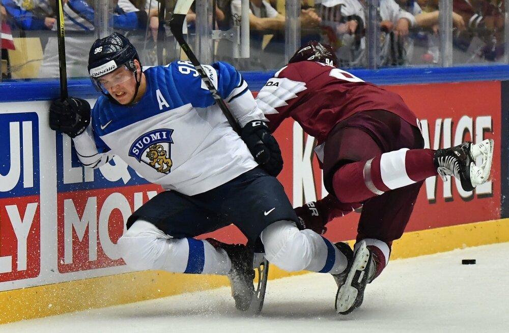 Jäähoki Soome vs Läti