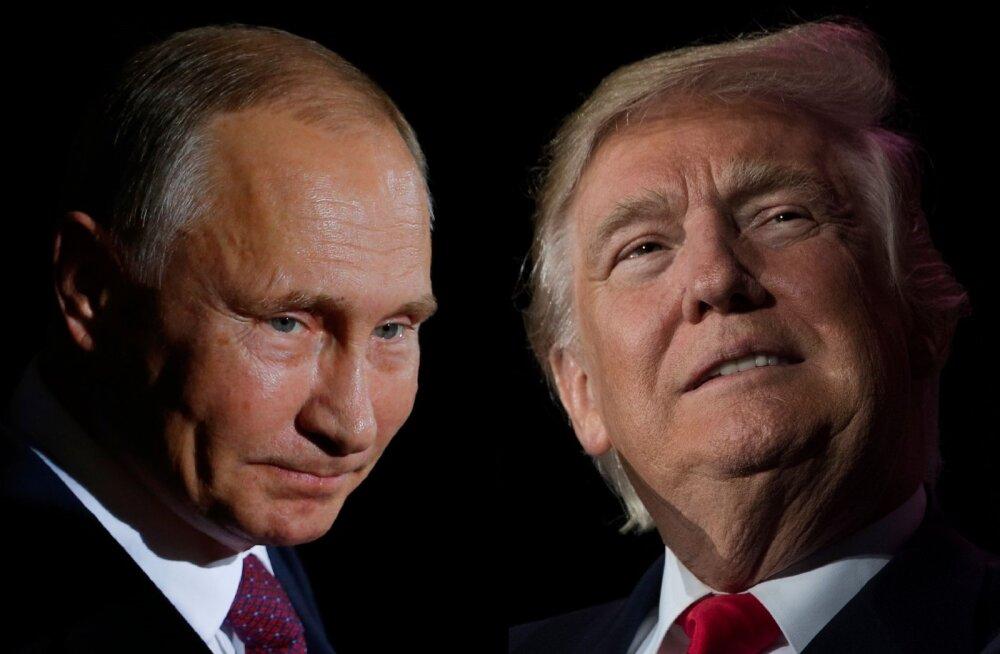 Trump iseloomustas Putinit kahe sõnaga