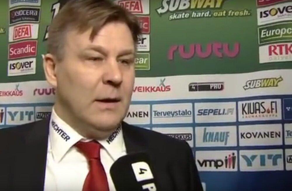 Kõmuajakiri avaldas Soome hokitreeneri peksujuhtumi video, politsei alustas uurimist