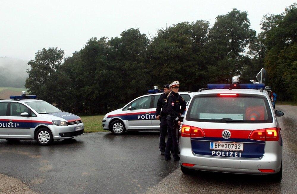 Четверо эстонцев пытались ограбить в Австрии ювелирный магазин: одному удалось скрыться