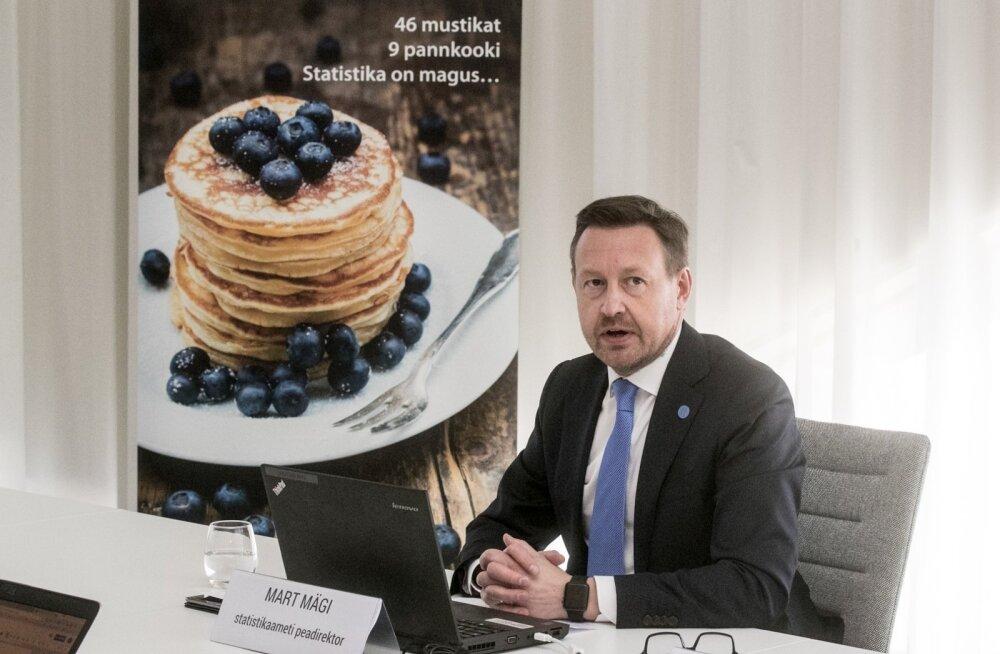 Statistikaameti peadirektor Mart Mägi