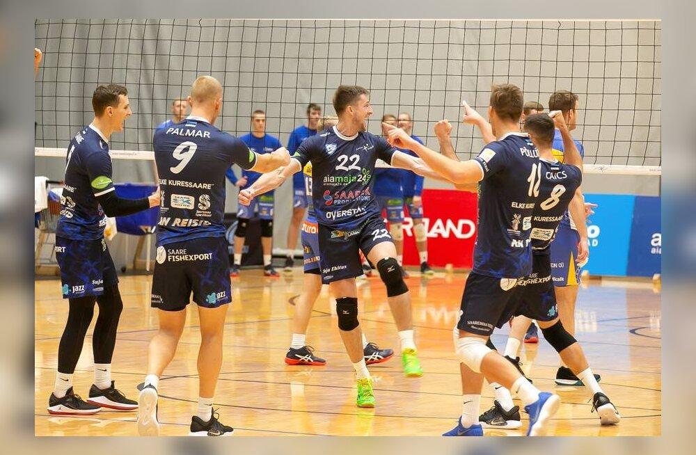 Võrkpalli muinaslugu Eesti moodi: 28-aastaselt esiliigast otse Euroopa tippvõistkonna vastu