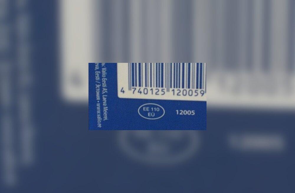 Tervisemärk ehk identifitseerimismärgis pakenditel
