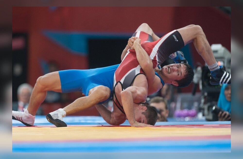 Riigikogu sporditoetusrühm: maadlus peab jääma olümpiakavva