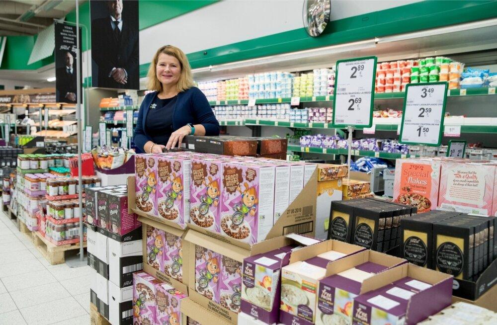 Tesco tooted on eilsest Prismades. Tiia Karu sõnul ei pürgita nendega Eesti toodete kohale ega asemele.