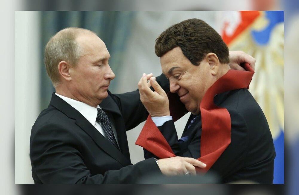Kobzon ja Putin