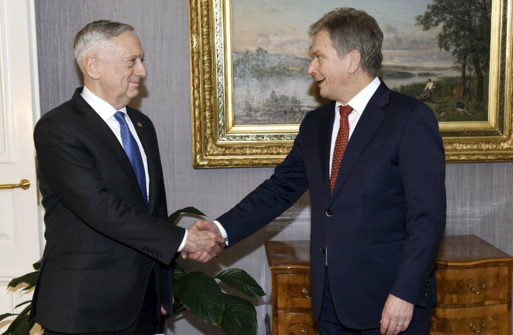 USA kaitseminister Mattis Helsingis: USA-Soome suhted pole kunagi olnud nii tugevad