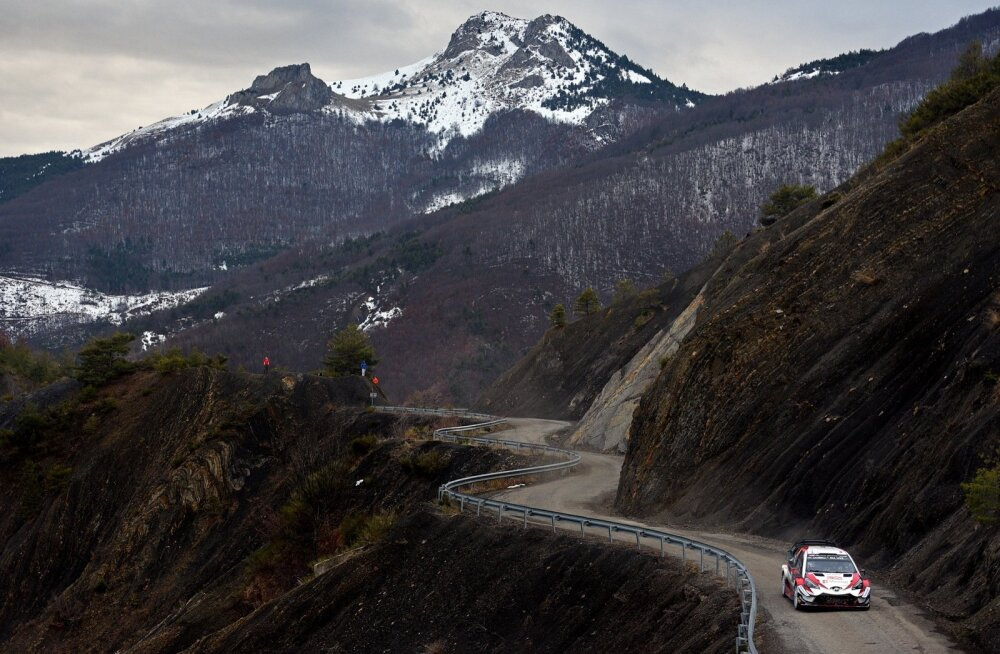 Monte Carlo ralli 2018