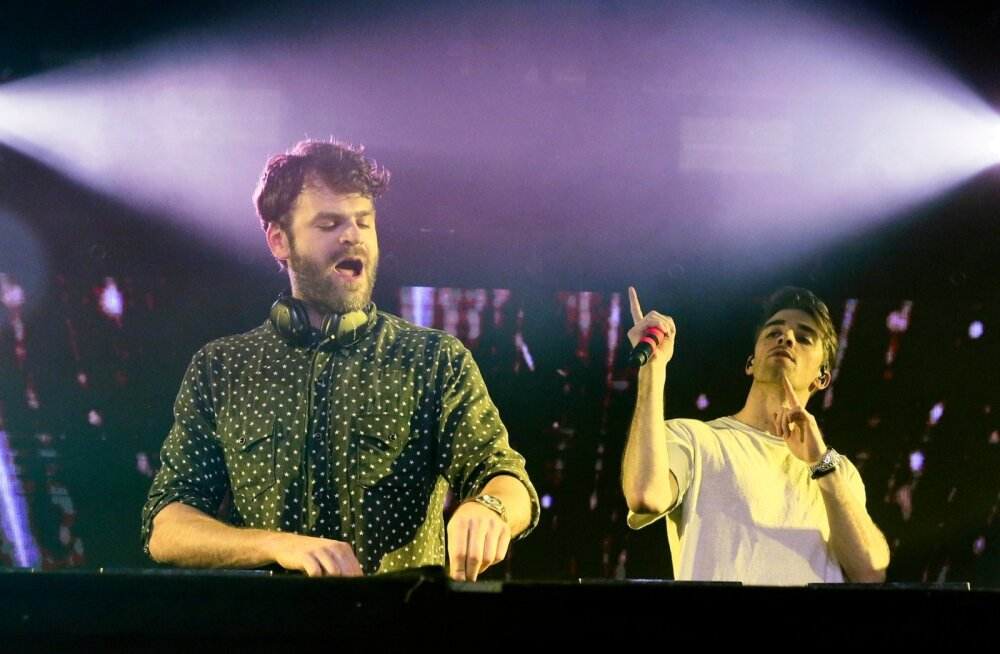 The Chainsmokers - Alex Pall ja Drew Taggart.