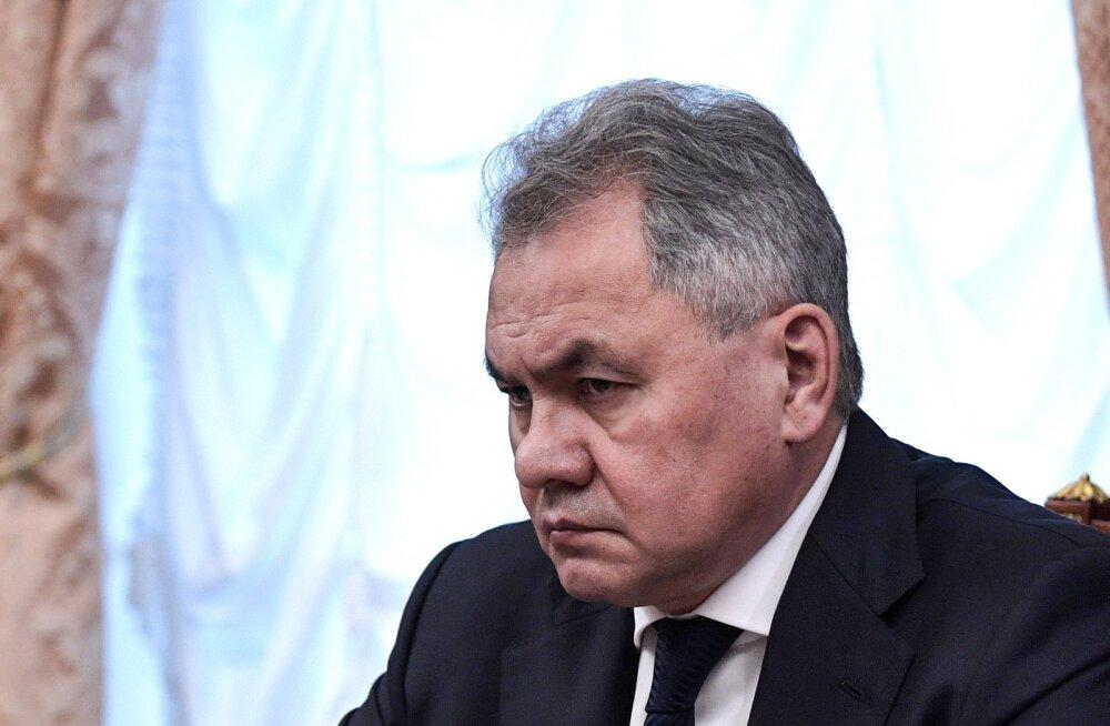Vene kaitseminister Šoigu rääkis vastustest USA väljumisele raketikokkuleppest