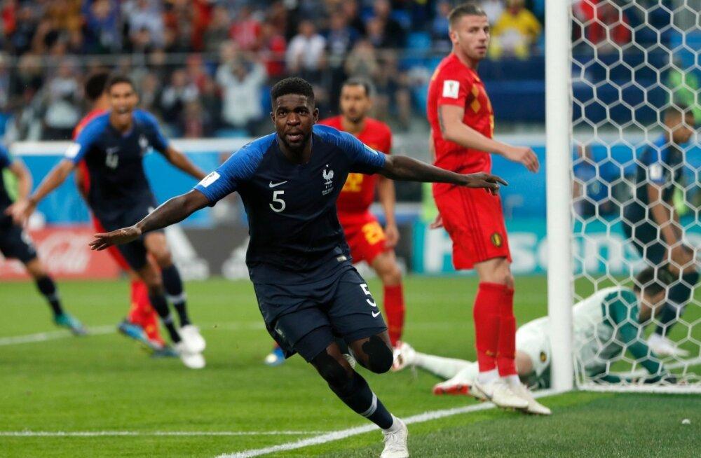 Prantsusmaa vs Belgia