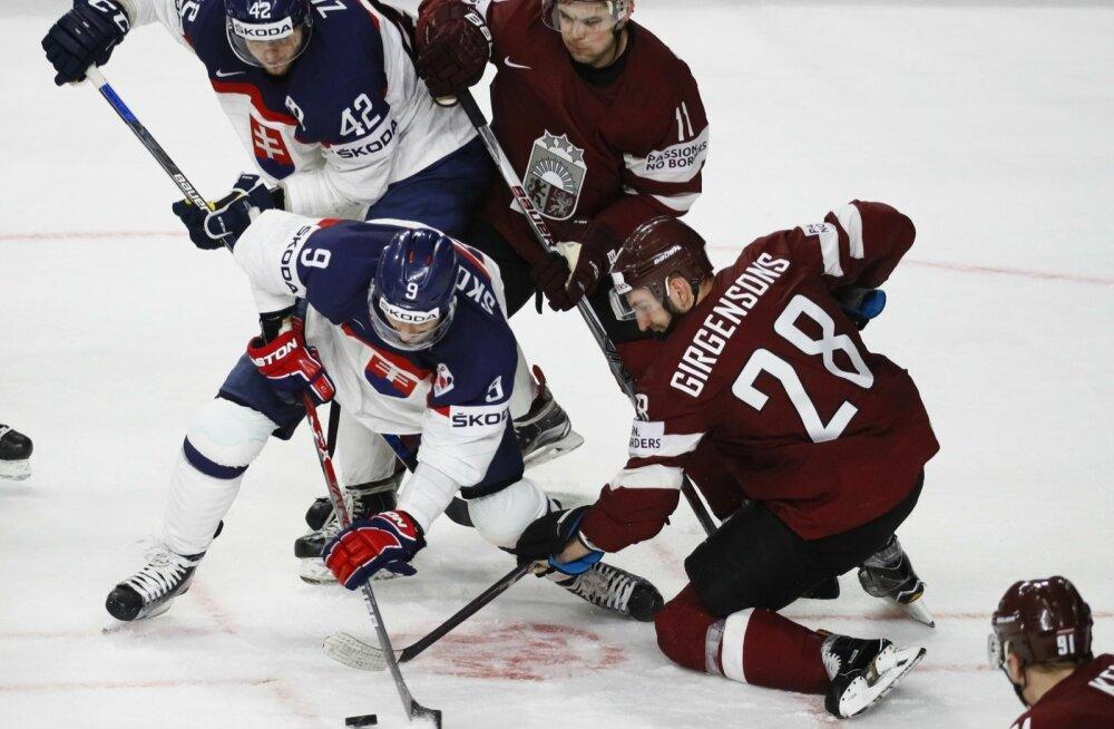 Jäähoki Läti vs Slovakkia