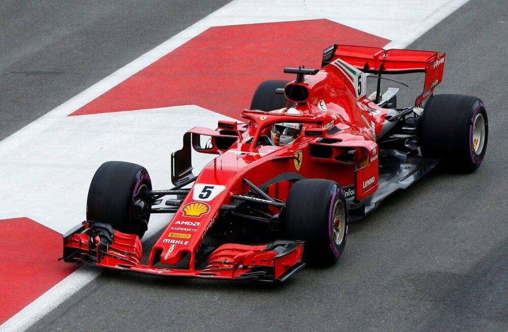 Sebastian Vettel Aserbaidžaanis.