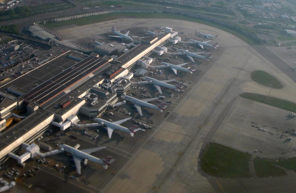 """Tiheda liiklusega Heathrow lennujaamast stardib ka ilma reisijateta """"kummituslende"""""""