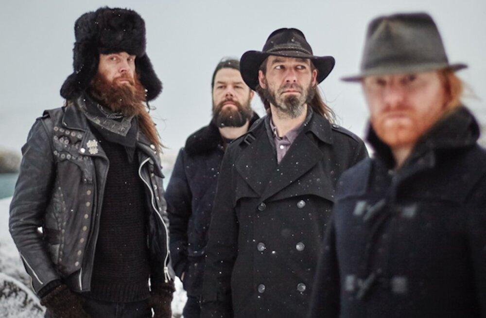 Laupäeval esineb Tallinnas omanäoline Islandi bänd Solstafir
