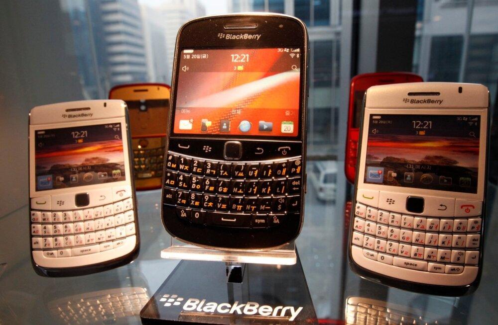 Blackberryl on ametlikult kriips peal: ettevõtte turuosa on 0%