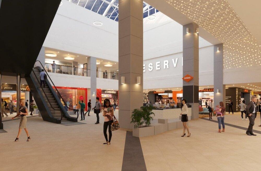 ФОТО: Смотрите, как будет совсем скоро выглядеть обновленный торговый центр Kristiine