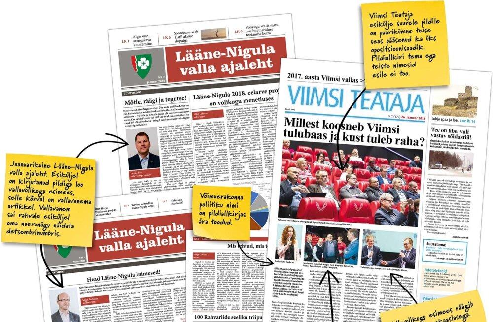 Opositsioon ei pääse kohaliku lehe veergudele sõna võtma