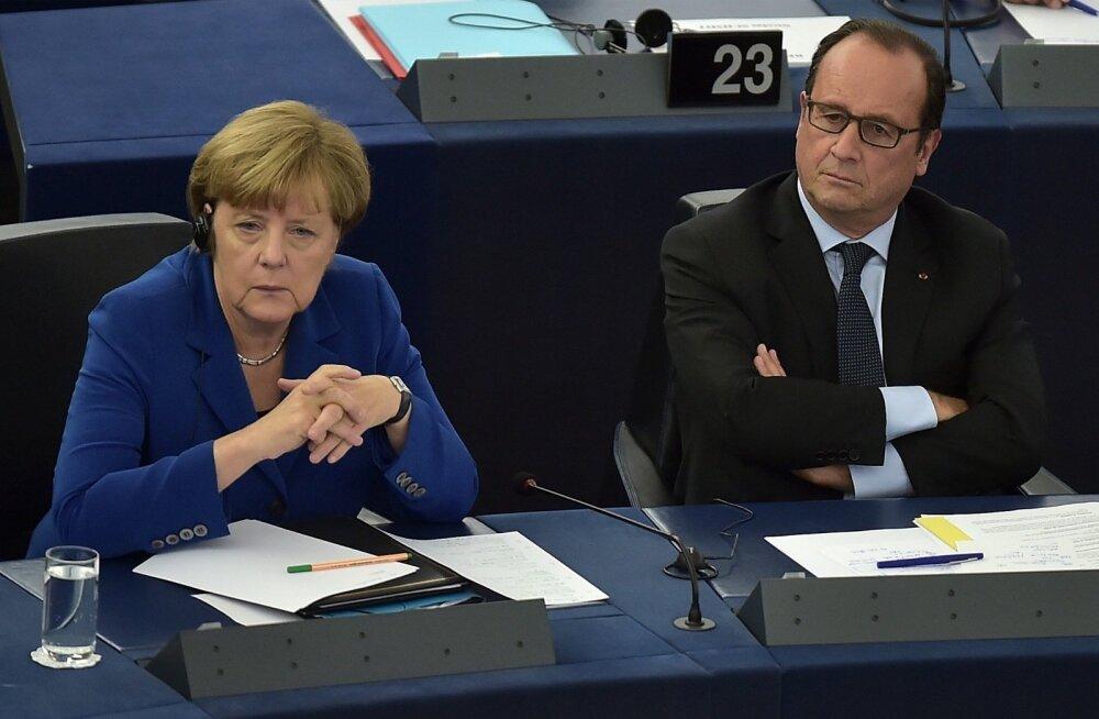 Angela Merkel ja François Hollande