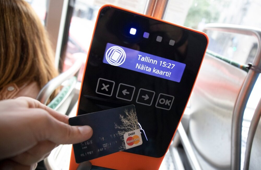 Täna läheb Tallinnas liinile esimene tramm, kus saab pileti osta pangakaardiga