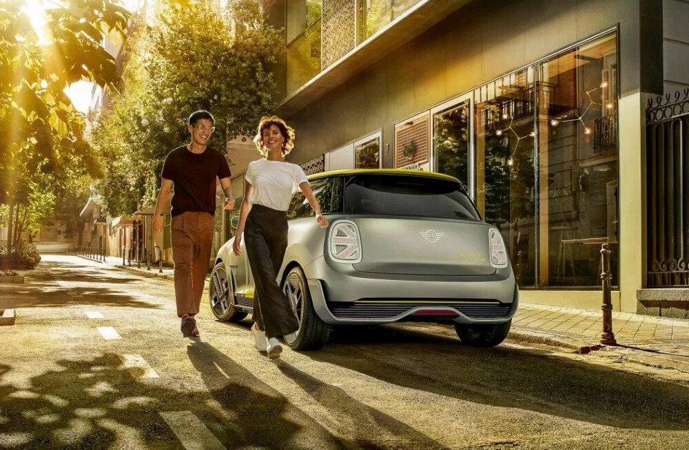 Täitsa huvitav näeb välja: BMW esitleb MINI Electric särtsakat ideeautot