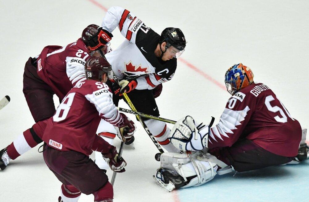 Jäähoki Kanada vs Läti