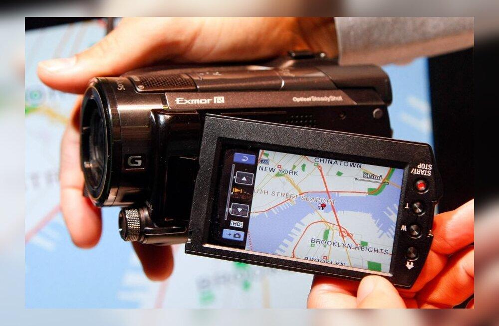 GPSiga videokaamera