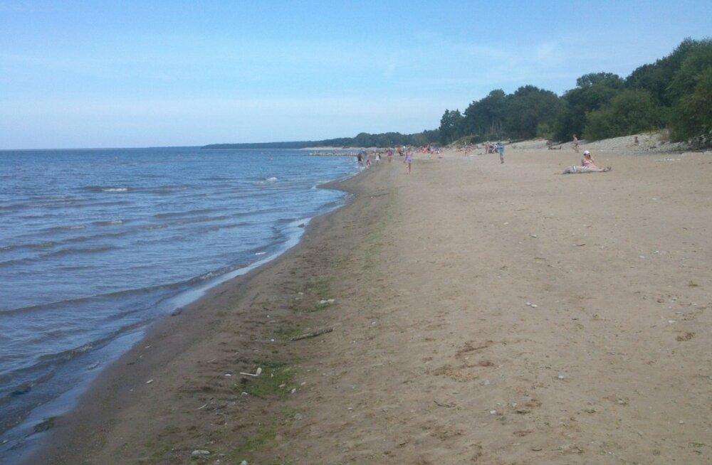 Пляж в Силламяэ