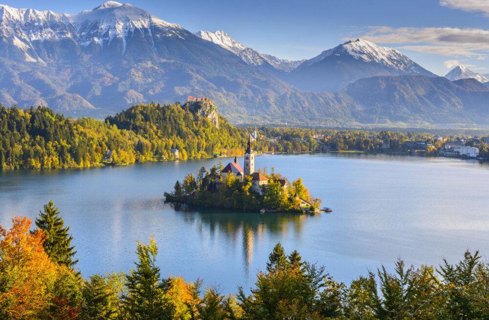 Озеро Блед — жемчужина Словении