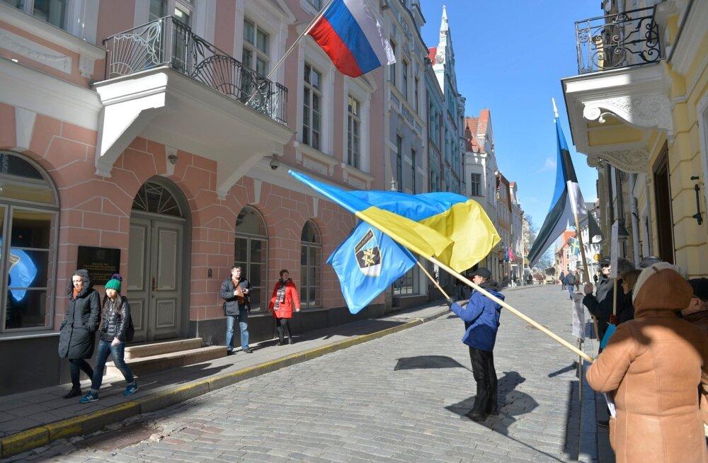 Ants Erm: jätkame pikettidega Vene saatkonna ees, sest Putin on saatan ja Ukraina vajab meid