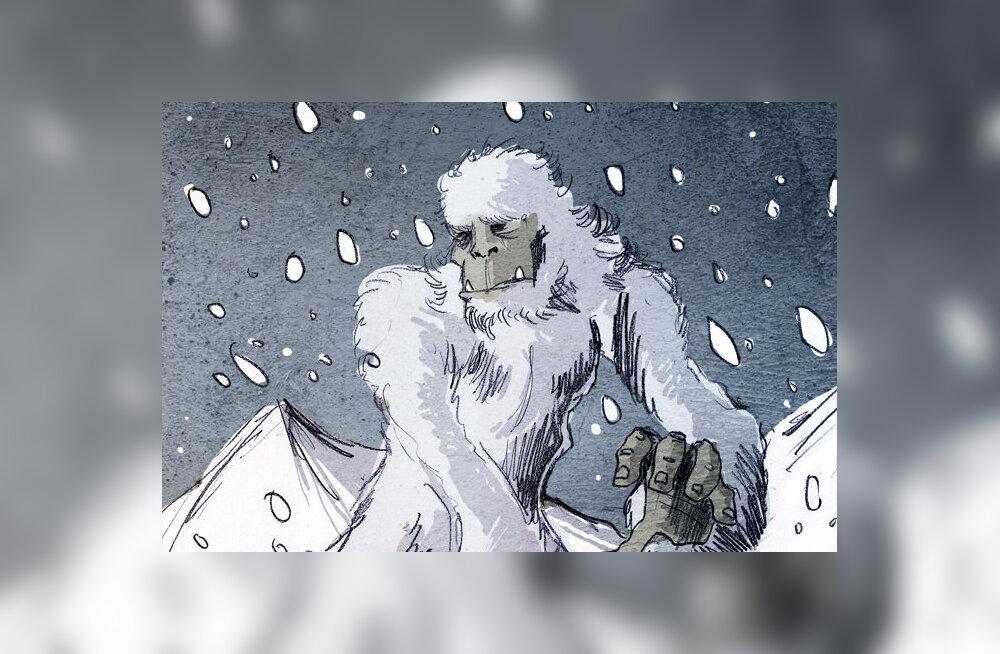 DNA analüüs: lumeinimese legend ei sündinud tühjalt kohalt