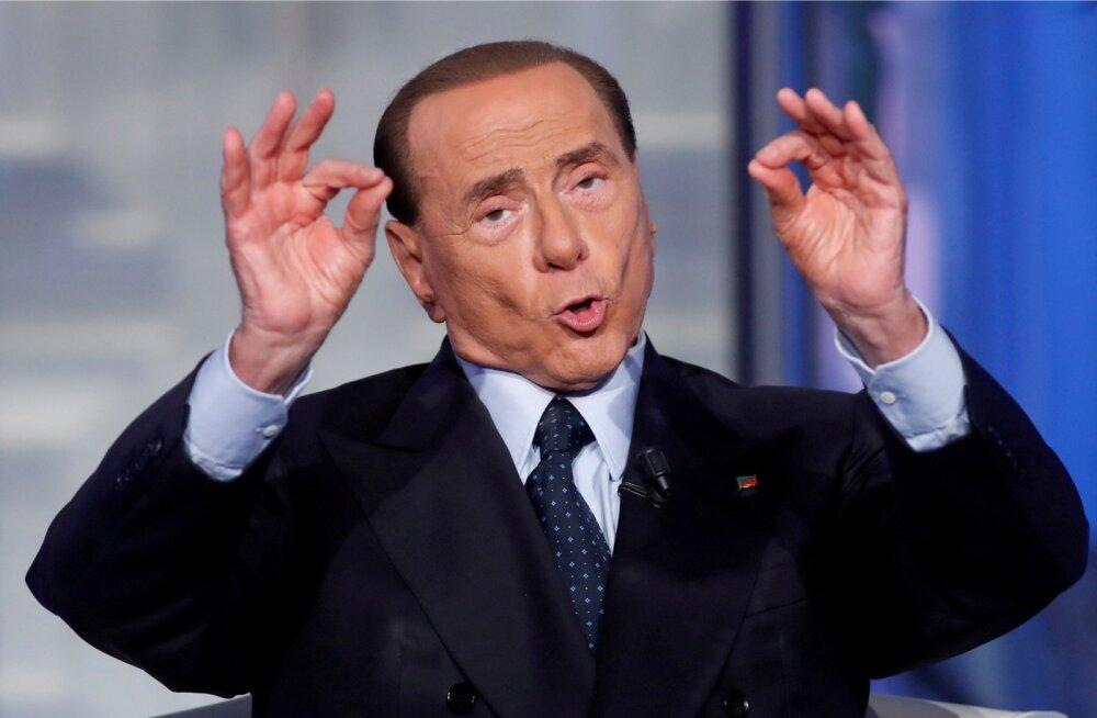 Skandaalne Silvio Berlusconi ei pruugi seekord veel riiki dirigeerima pääseda, kuid on oma 2019. aastani kehtiva kandideerimiskeelu Euroopa inimõiguste kohtusse edasi kaevanud.