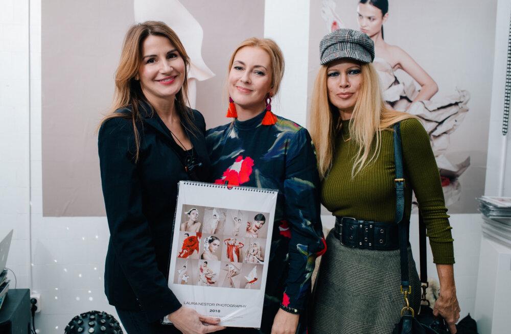GALERII | Eesti fotograafi tööd järgmisel aastal seina ehtima? Miks mitte! Laura Nestor tutvustas lõbusa peoga uut kalendrit
