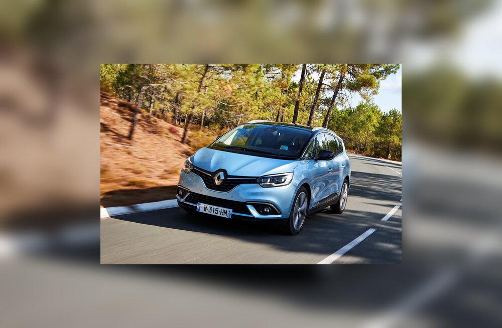 Renault Grand Scenic: silma paitav pereauto