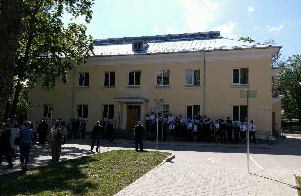 В Нарве вновь открыто здание легендарного Клуба юных моряков