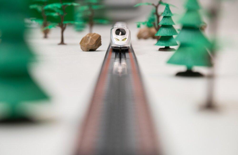 Uuring: toetus Rail Balticu projektile järjest väheneb
