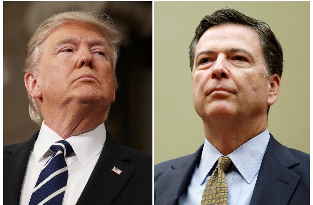 FBI direktori memo järgi nõudis Trump temalt Flynni Vene-sidemete juurdluse lõpetamist