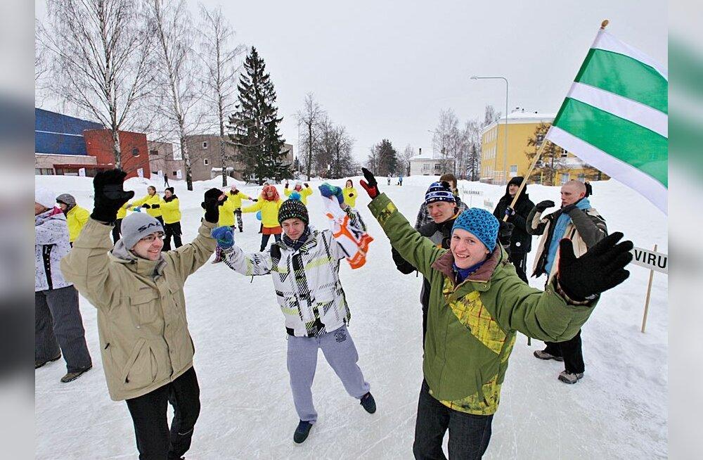 Eesti Holmenkollen Lähtel ja Tapal
