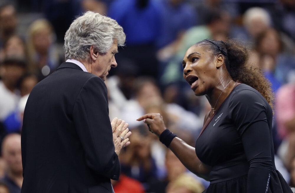 KOMMENTAAR | Kas Serena Williams vääris karistust ning kas kohtunik tegi midagi valesti?
