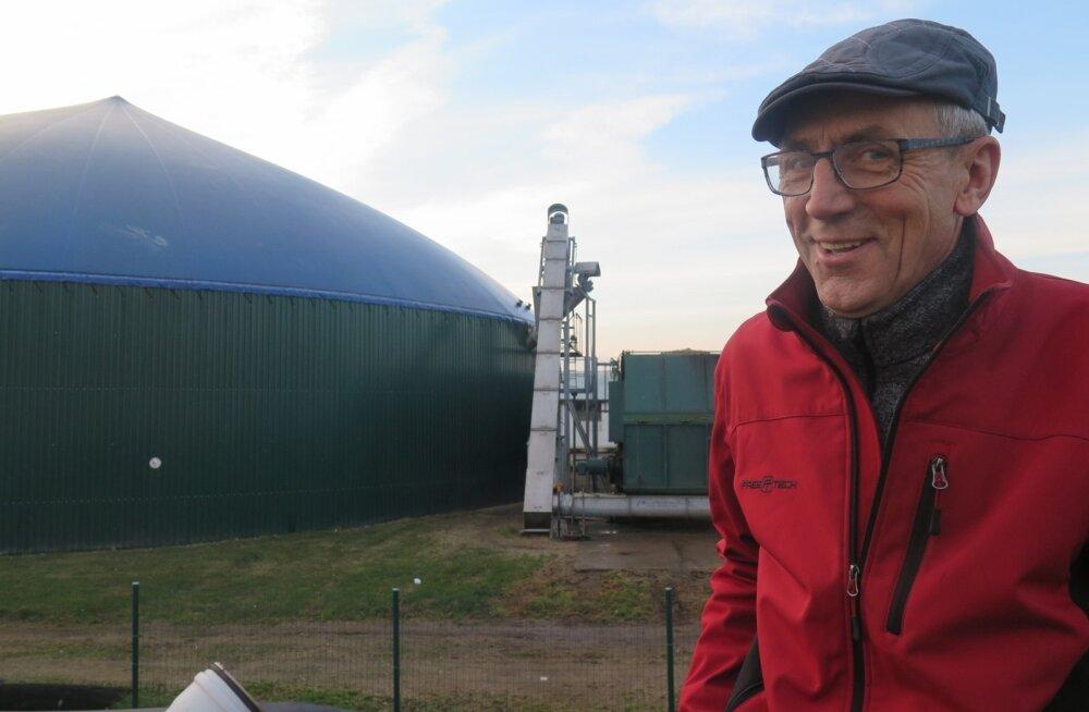 Mullune Läänemere aasta farmer Juris Cīrulis on tavatootja nitraaditundlikul alal 300 lehma, 750 ha maa ja biogaasijaamaga.