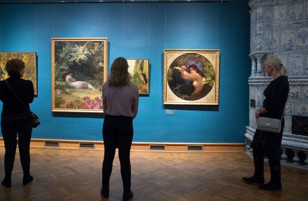 """Kadrioru kunstimuuseumis avati näitus """"Alguses olid … Köler ja Weizenberg""""."""