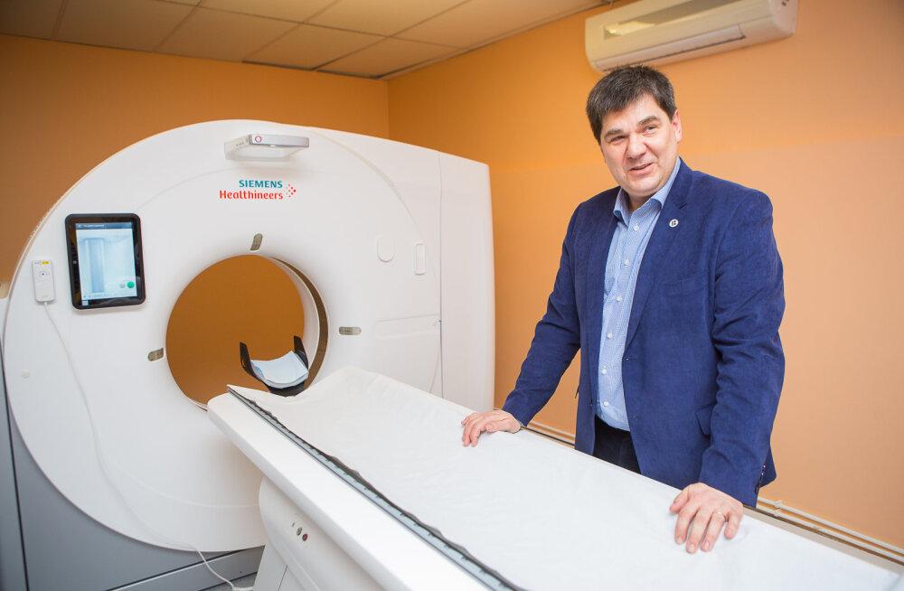 MEIE MAA | Haigla avas uue kompuutertomograafi