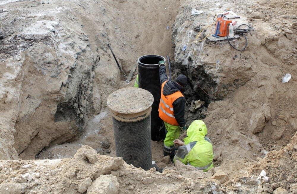 Vee- ja kanalisatsioonitorustiku rajamine