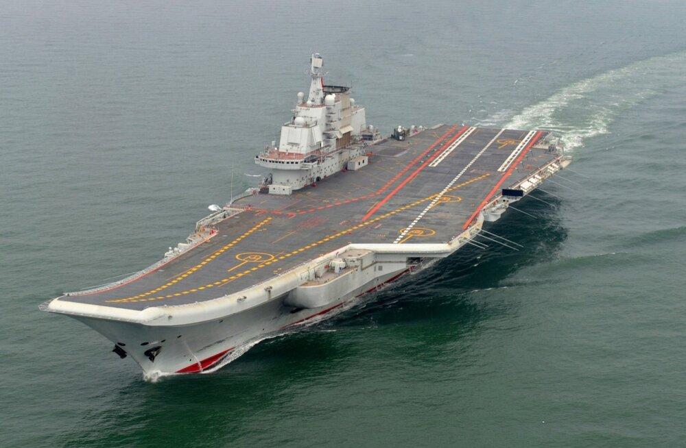 Hiina tunnistas Ukrainast poolikuna ostetud endise Nõukogude lennukikandja vigaseks