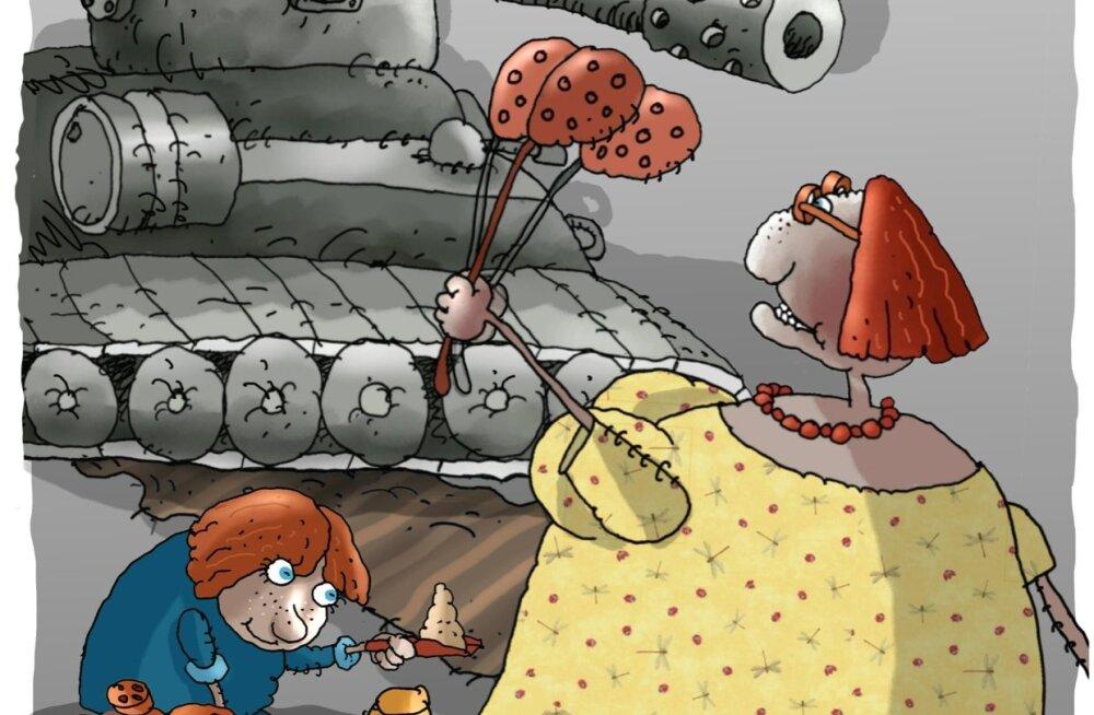 Karikatuur | Maailma saatus otsustatakse lastetubades