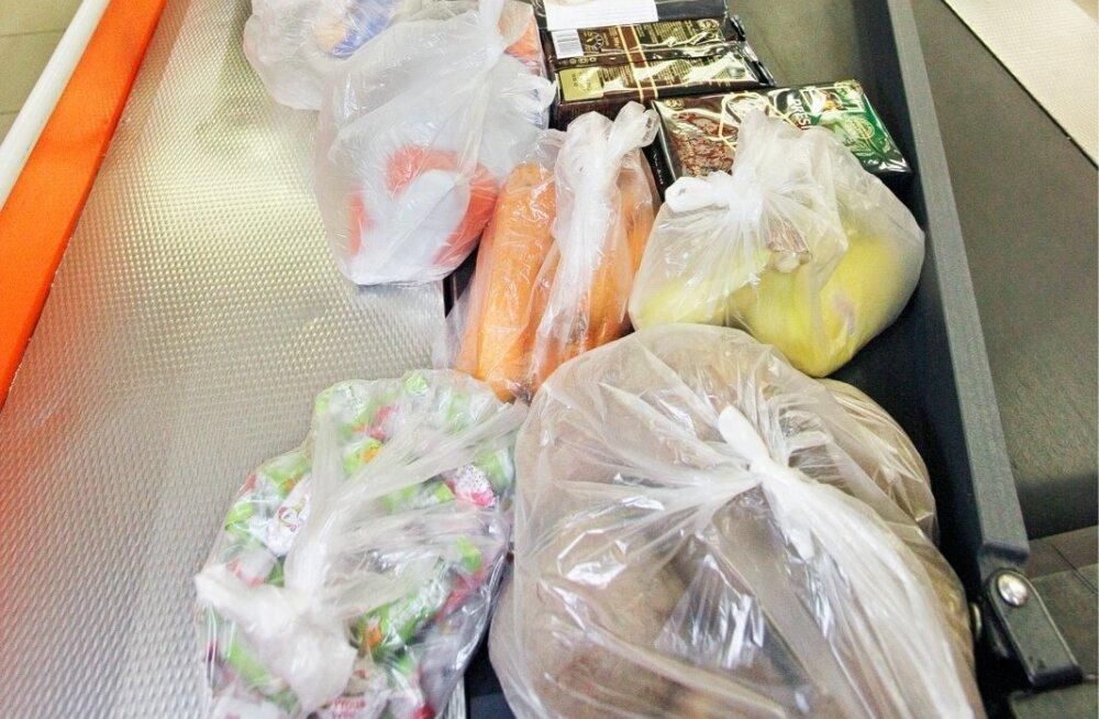 Eriti õhukesi kotte tohib kasutada hügieeni pärast ja toiduraiskamise vähendamiseks, aga muuks mitte.
